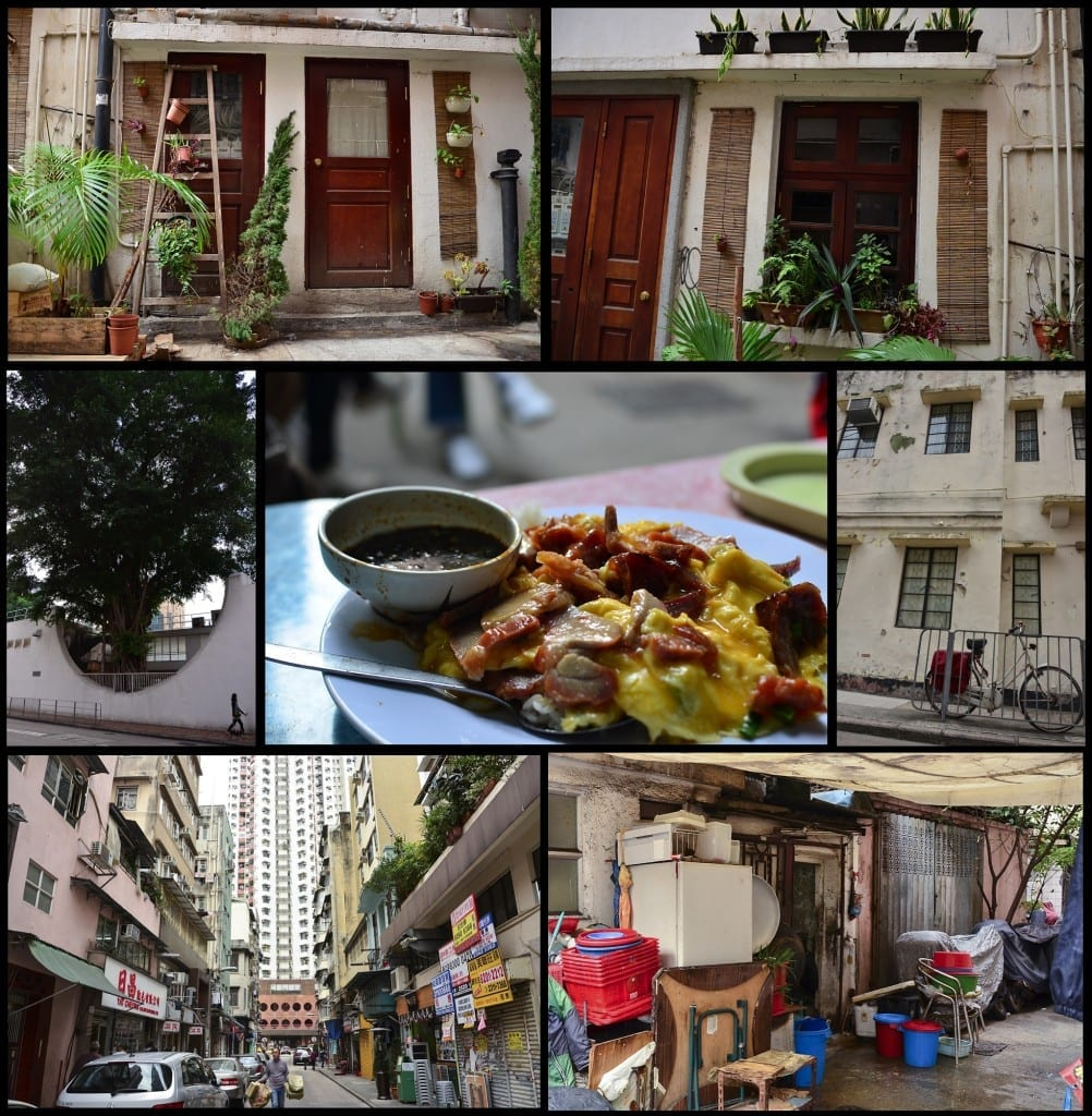 Hong kong tin hau collage